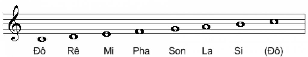 7 nốt nhạc trong âm nhạc
