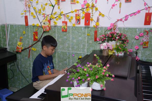 Văn Chính - lớp piano trẻ em Thủ Đức tại Trung Tâm Âm Nhạc Upponia
