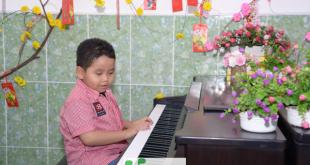 Anh Khoa - lớp piano trẻ em Thủ Đức của Trung Tâm Âm Nhạc Upponia