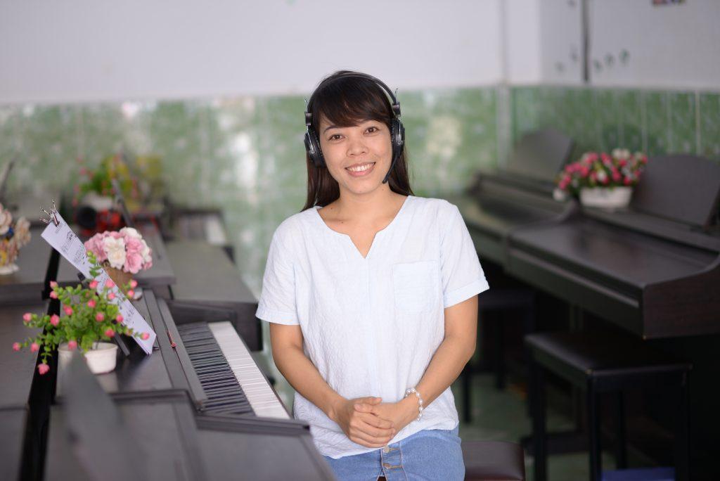 Trần Thị Thọ - Sáng lập Trung tâm âm nhạc Upponia