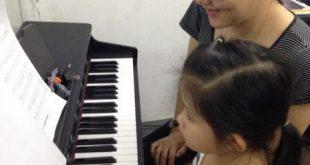 kinh nghiệm cho bé học piano ở Upponia