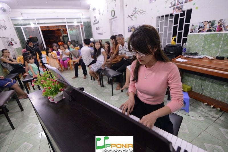 Quỳnh Như - Lớp piano dành cho người bận rộn của Trung tâm âm nhạc Upponia