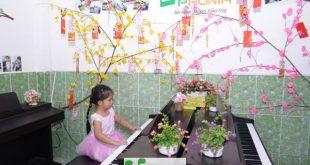 Bé Quỳnh Lam - Lớp học Piano trẻ em Thủ Đức của Trung Tâm Âm Nhạc Upponia