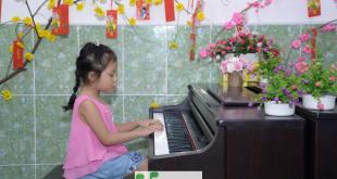 Cà Roort - Học viên bé nhẩ của Trung Tâm Âm Nhạc Upponia
