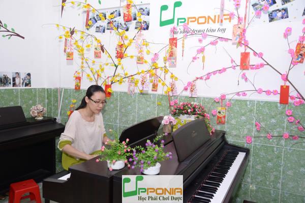 Quỳnh Giao - Lớp học Piano người lớn tại Trung Tâm Âm Nhạc Upponia