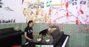Thái Ngân - Lớp học piano cho người lớn tai Trung tâm âm nhạc UPPONIA