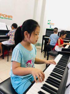 Lớp piano organ cho trẻ em vào buổi tối và cuối tuần