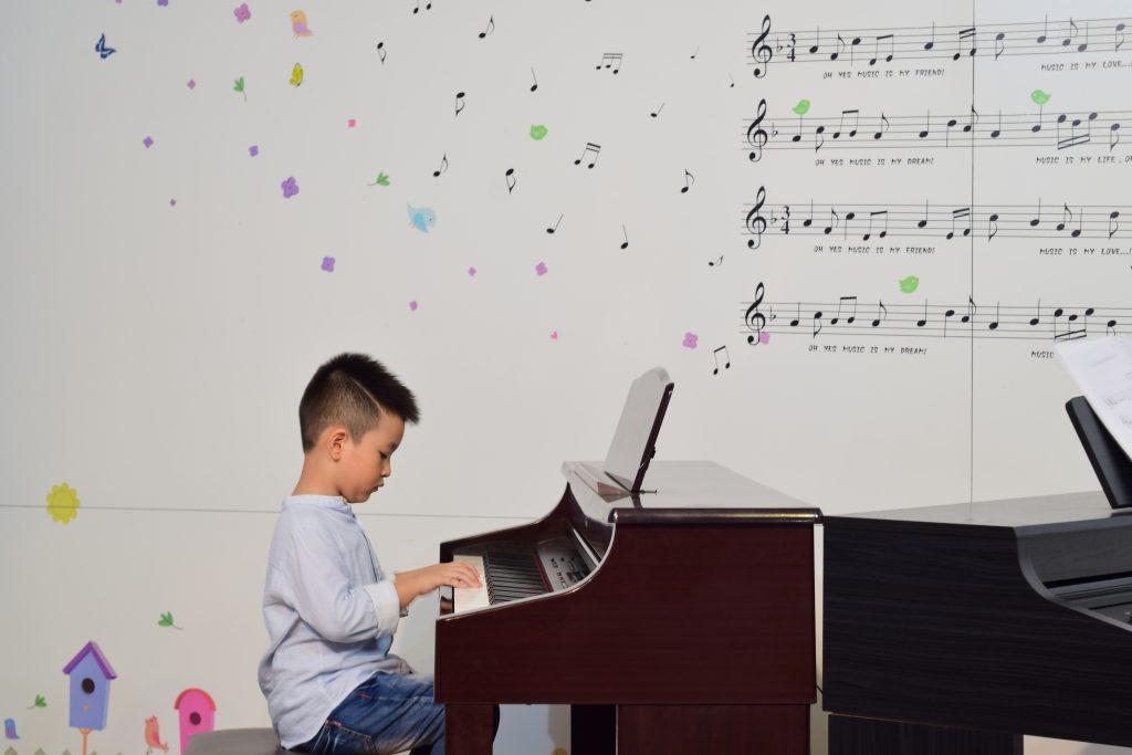 Lớp piano trẻ em của Upponia